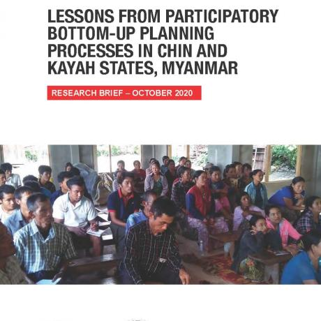 Lessons from Participatory Bot Chin and Kayah States Myanmar